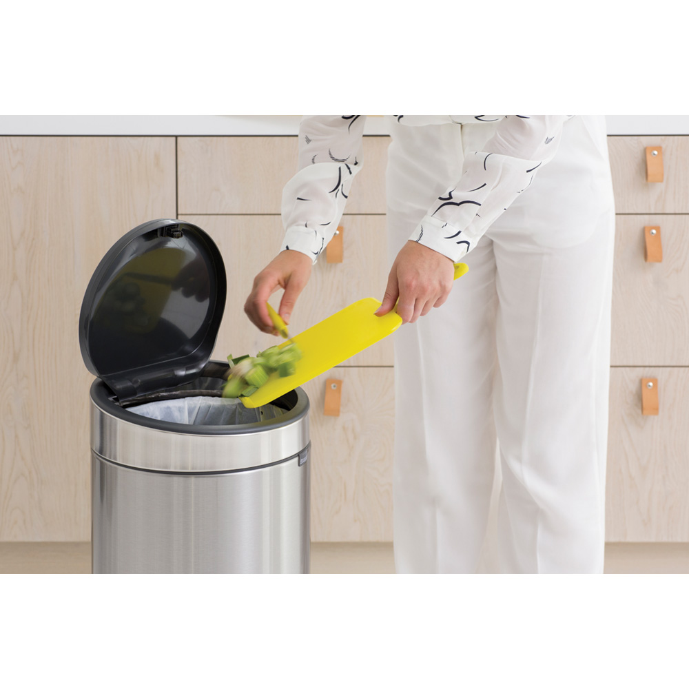 Кош за смет Brabantia Touch Bin New 30L, Matt Steel(6)