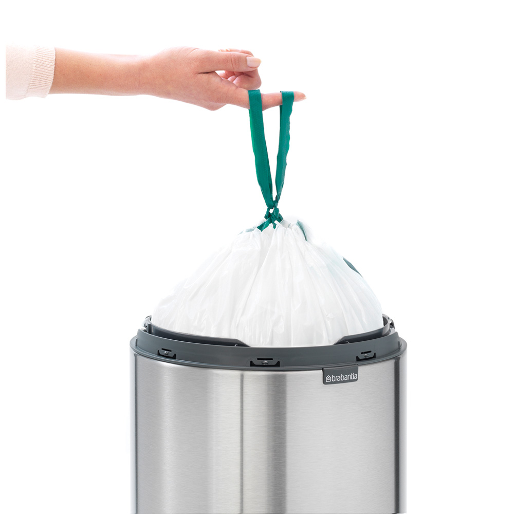 Кош за смет Brabantia Touch Bin New 30L, Matt Steel(9)