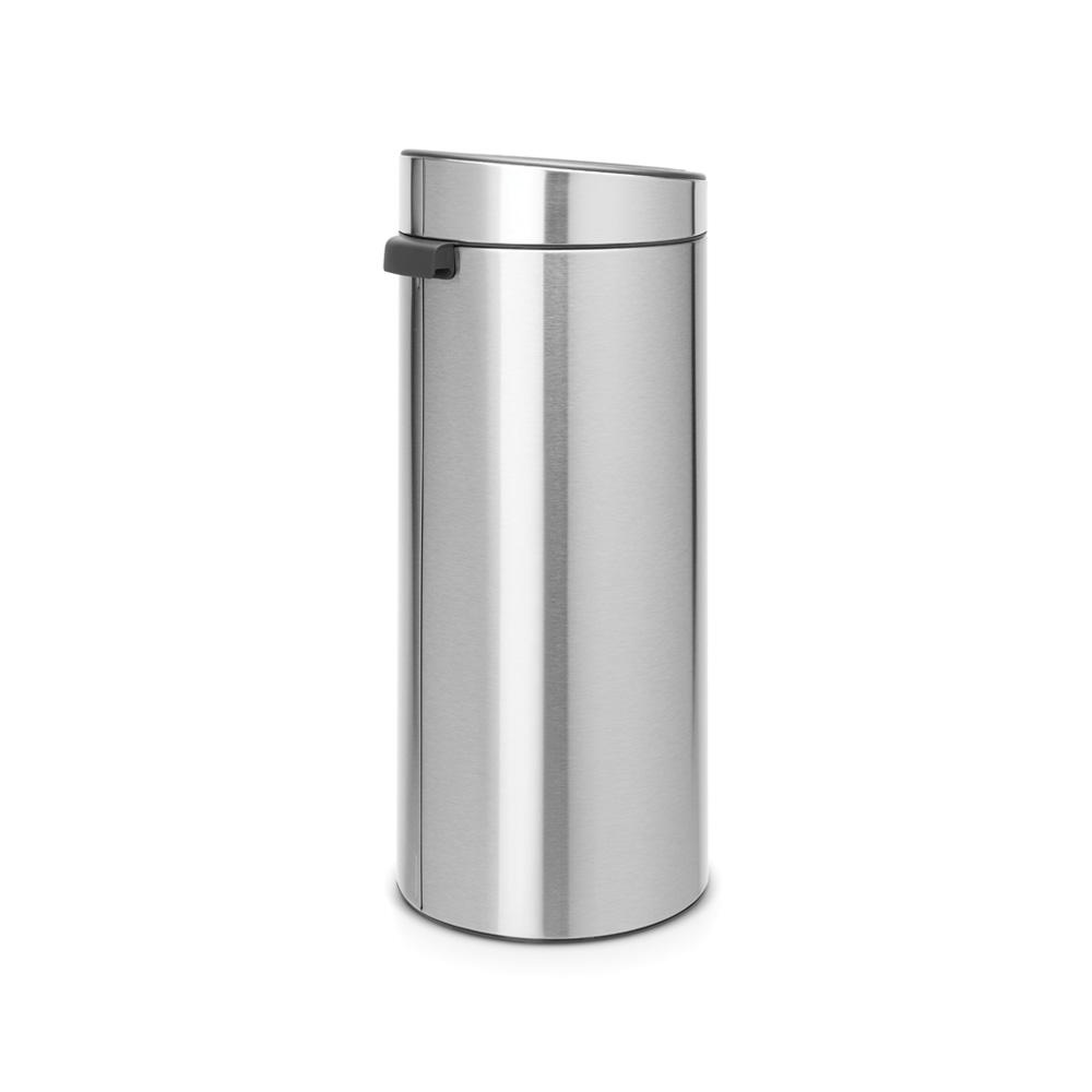Кош за смет Brabantia Touch Bin New 30L, Matt Steel Fingerprint Proof(1)