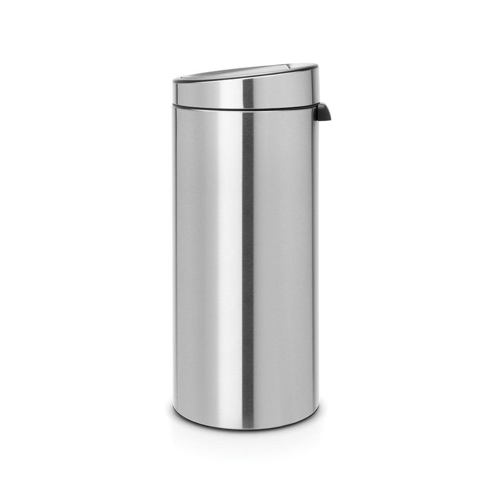Кош за смет Brabantia Touch Bin New 30L, Matt Steel Fingerprint Proof(2)