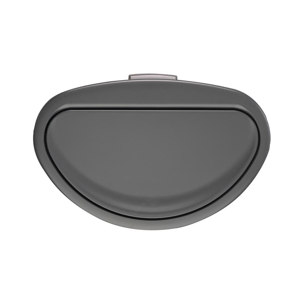 Кош за смет Brabantia Touch Bin New 40L, Matt Black, капак металик(3)