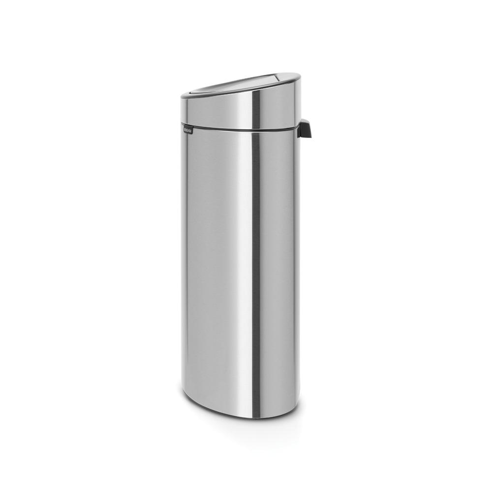 Кош за смет Brabantia Touch Bin New 40L, Matt Steel(1)