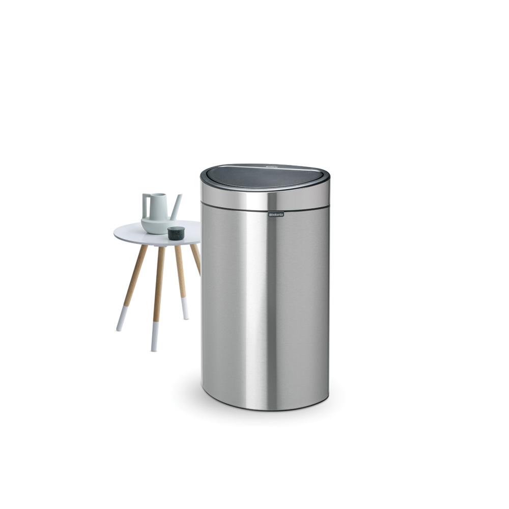 Кош за смет Brabantia Touch Bin New 40L, Matt Steel(4)