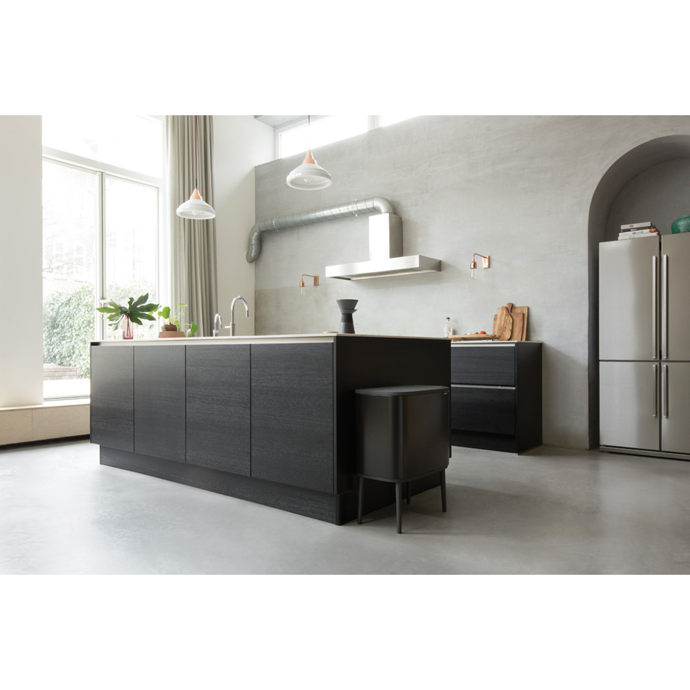 Кош за смет Brabantia Bo Touch 36L, Matt Black(6)