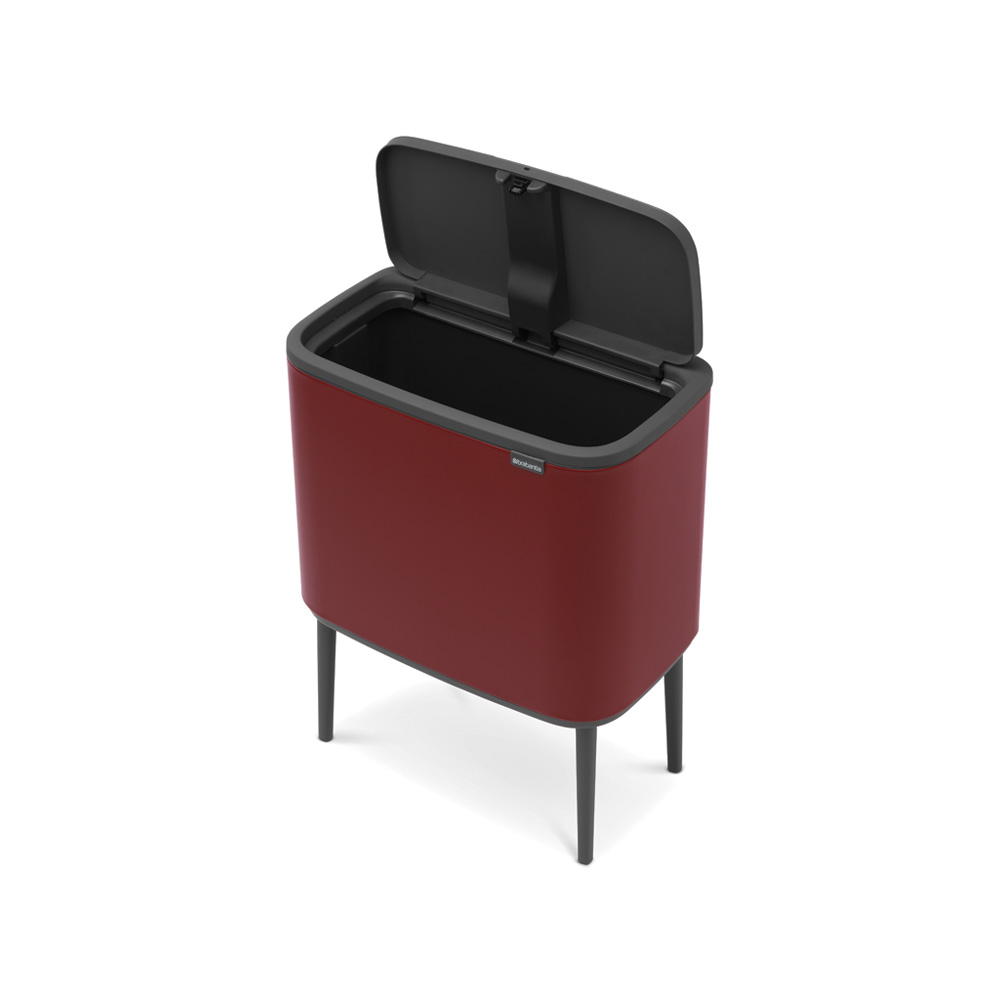 Кош за смет Brabantia Bo Touch 36L, Mineral Windsor Red(5)