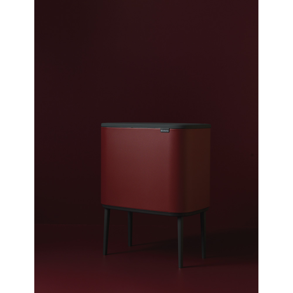 Кош за смет Brabantia Bo Touch 36L, Mineral Windsor Red(6)