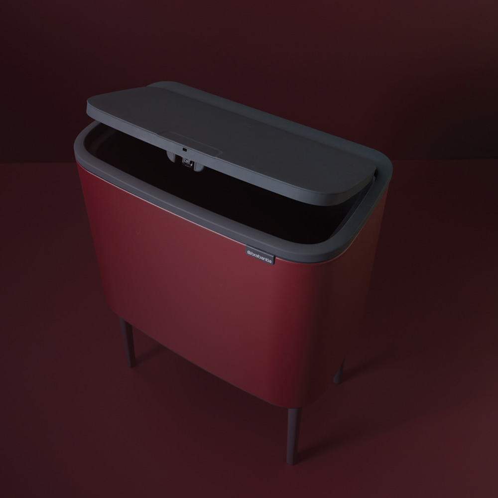 Кош за смет Brabantia Bo Touch 36L, Mineral Windsor Red(8)