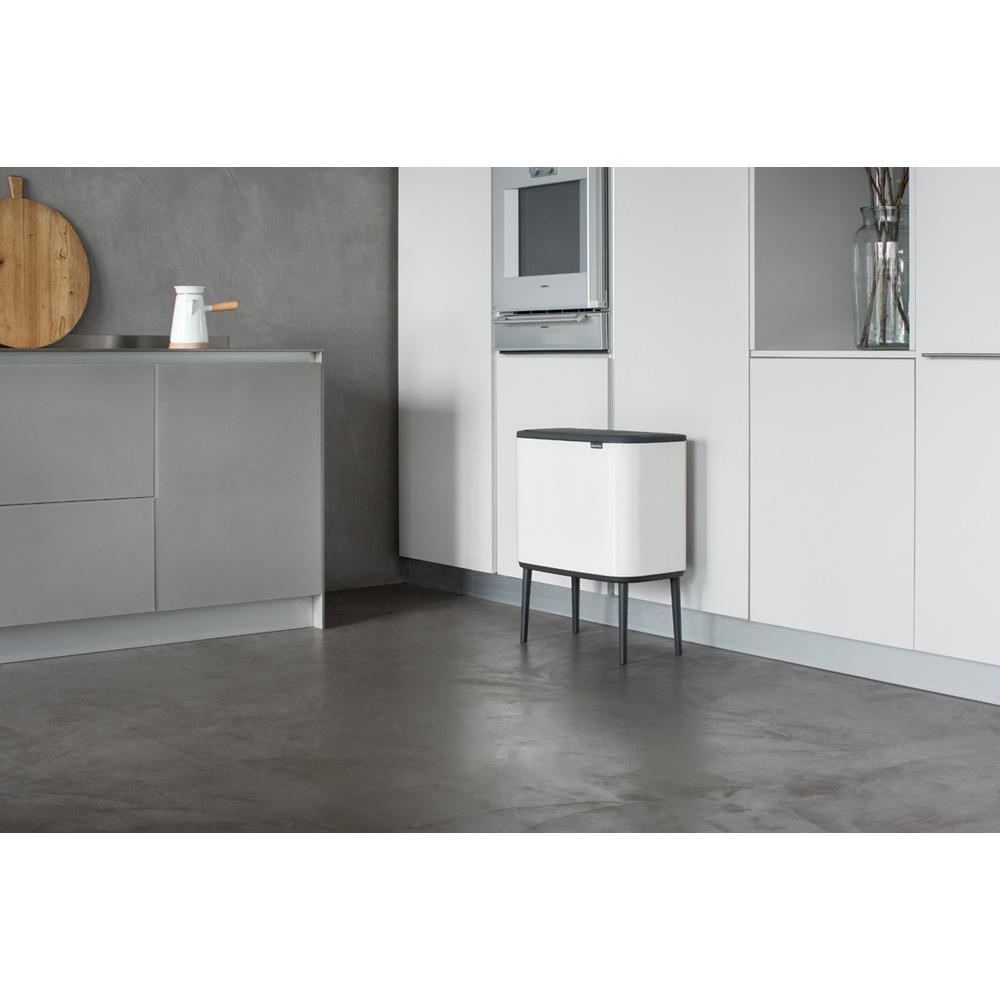Кош за смет Brabantia Bo Touch 11/23L, White(8)
