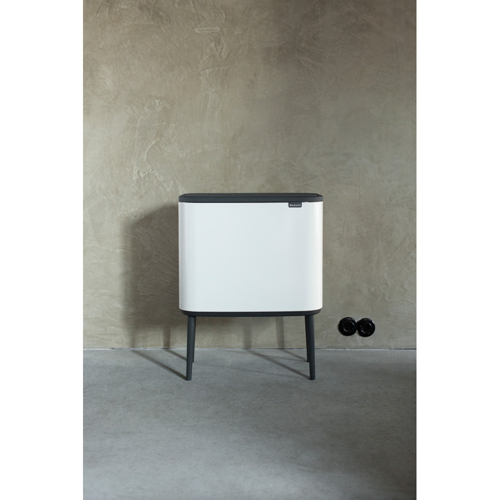 Кош за смет Brabantia Bo Touch 11/23L, White(9)