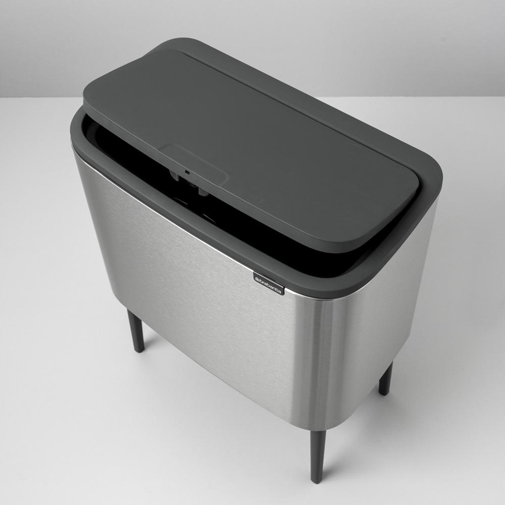 Кош за смет Brabantia Bo Touch 11/23L, Matt Steel Fingerprint Proof(7)