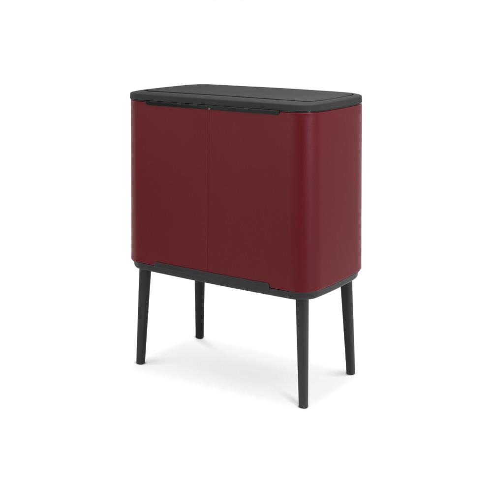 Кош за смет Brabantia Bo Touch 11+23L, Mineral Windsor Red(2)
