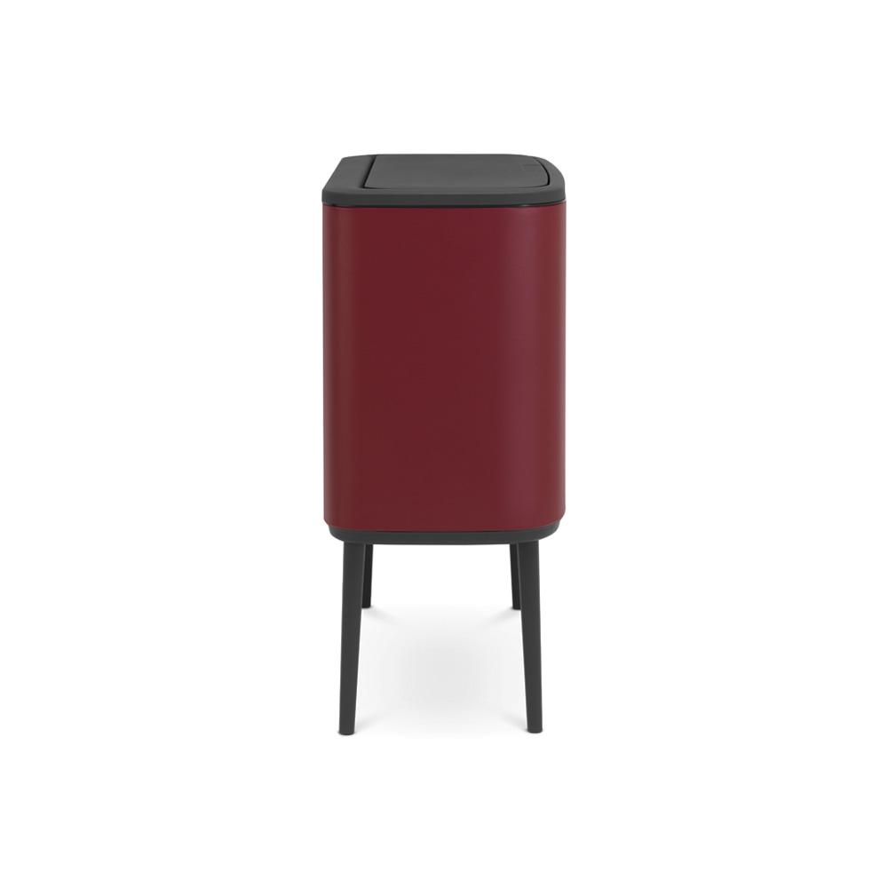 Кош за смет Brabantia Bo Touch 11+23L, Mineral Windsor Red(3)
