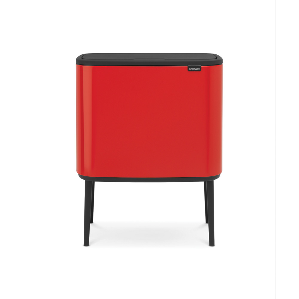 Кош за смет Brabantia Bo Touch 3x11L, Passion Red