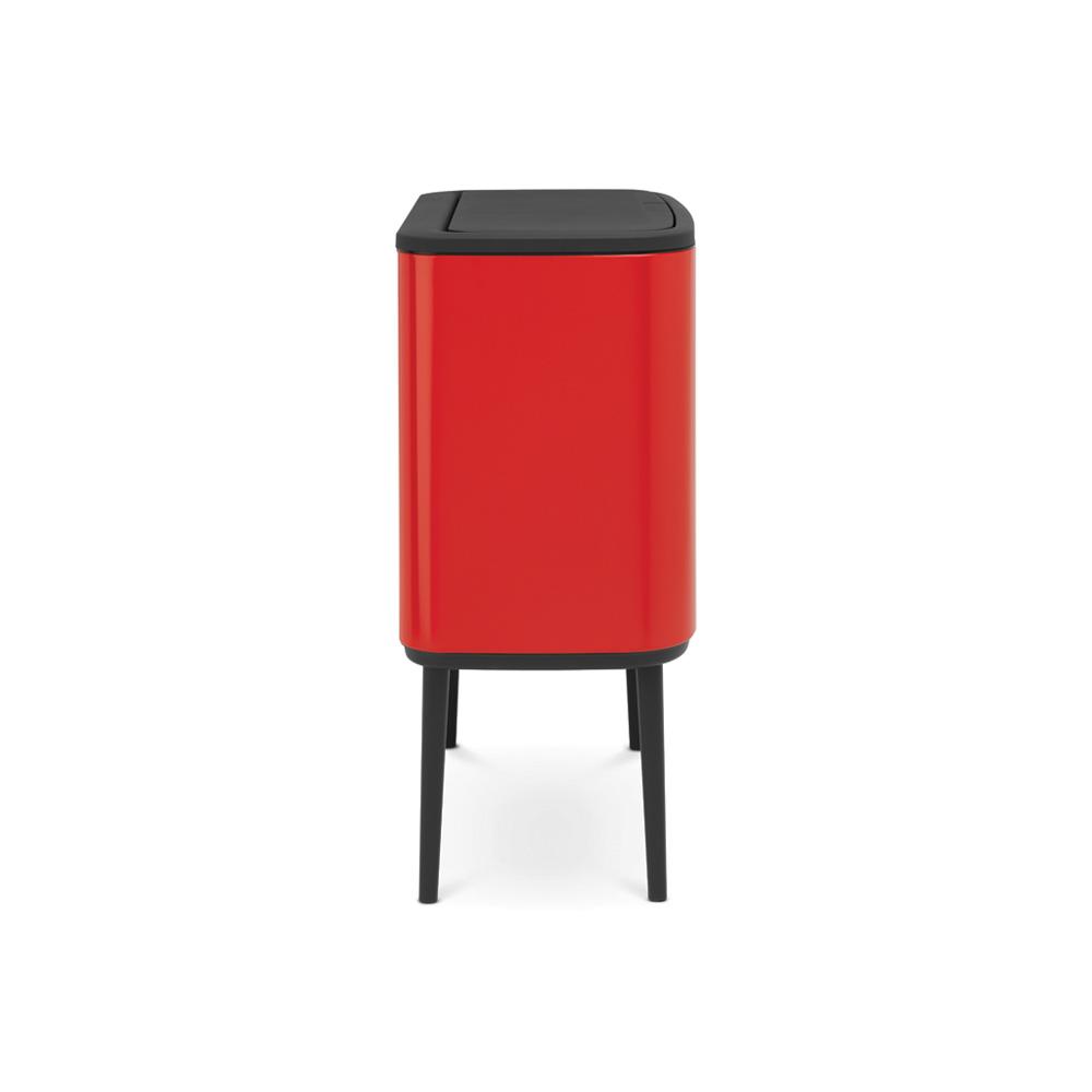 Кош за смет Brabantia Bo Touch 3x11L, Passion Red(4)