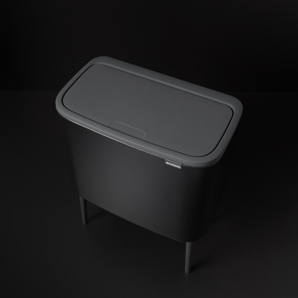 Кош за смет Brabantia Bo Touch 3x11L, Matt Black(5)