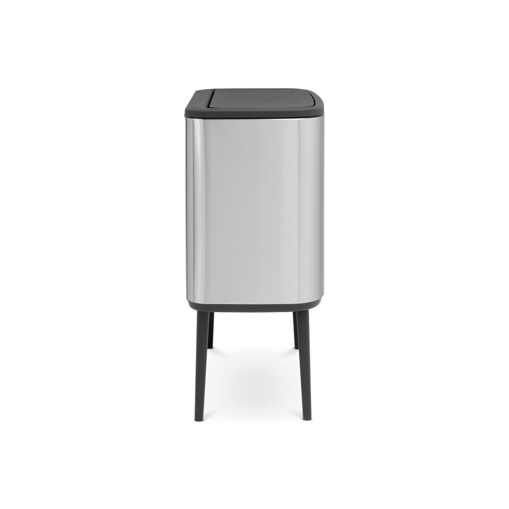 Кош за смет Brabantia Bo Touch 3x11L, Matt Steel Fingerprint Proof(3)