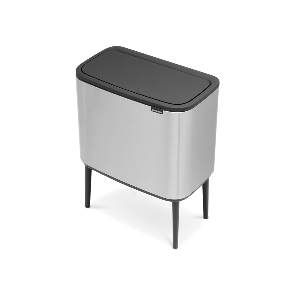 Кош за смет Brabantia Bo Touch 3x11L, Matt Steel Fingerprint Proof(4)