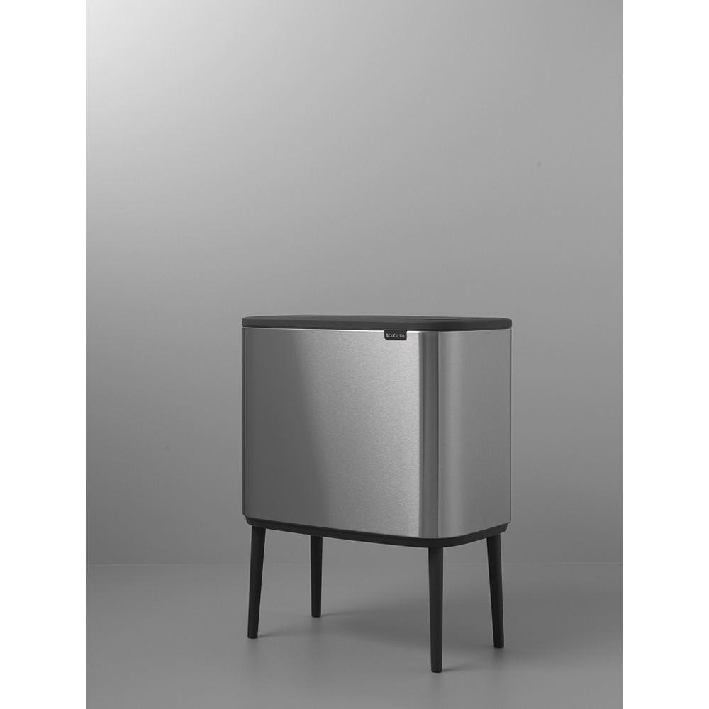 Кош за смет Brabantia Bo Touch 3x11L, Matt Steel Fingerprint Proof(6)
