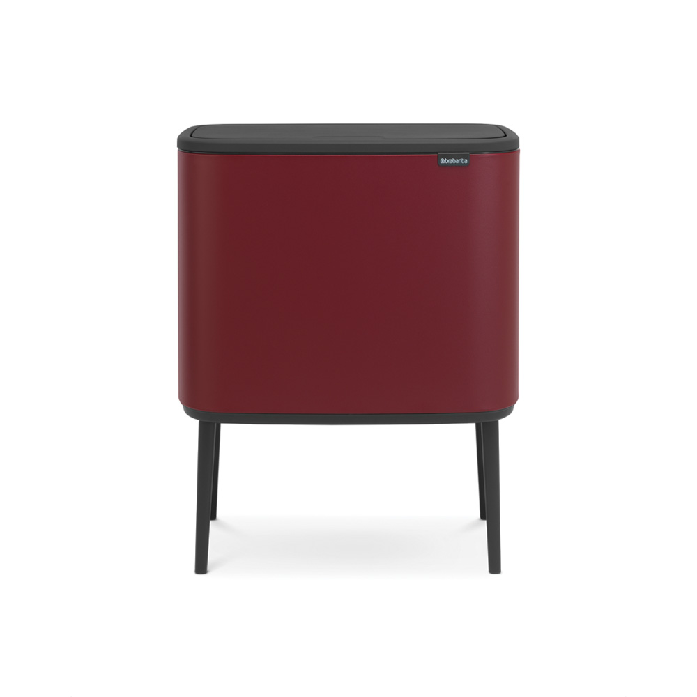 Кош за смет Brabantia Bo Touch 3x11L, Windsor Red