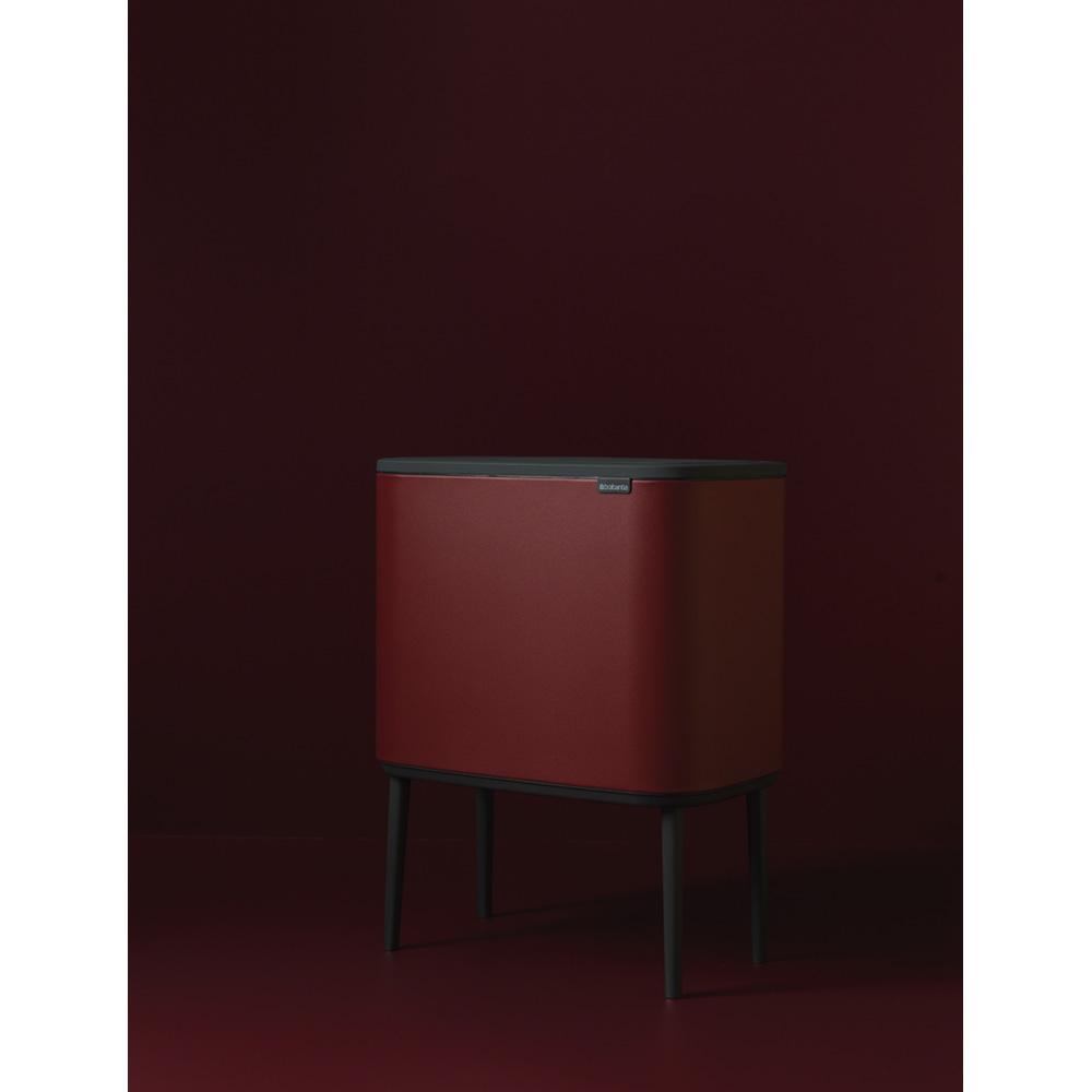 Кош за смет Brabantia Bo Touch 3x11L, Windsor Red(6)