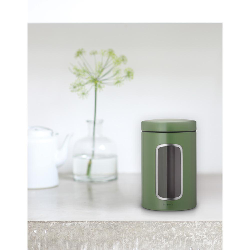 Буркан Brabantia Window 1.4L, Moss Green(1)