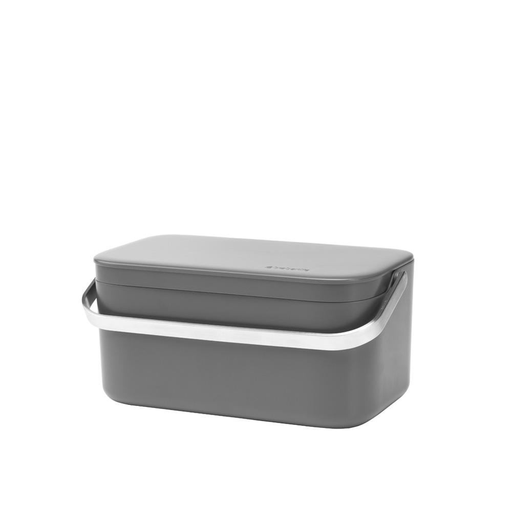 Кутия за хранителни отпадъци Brabantia Dark Grey(2)