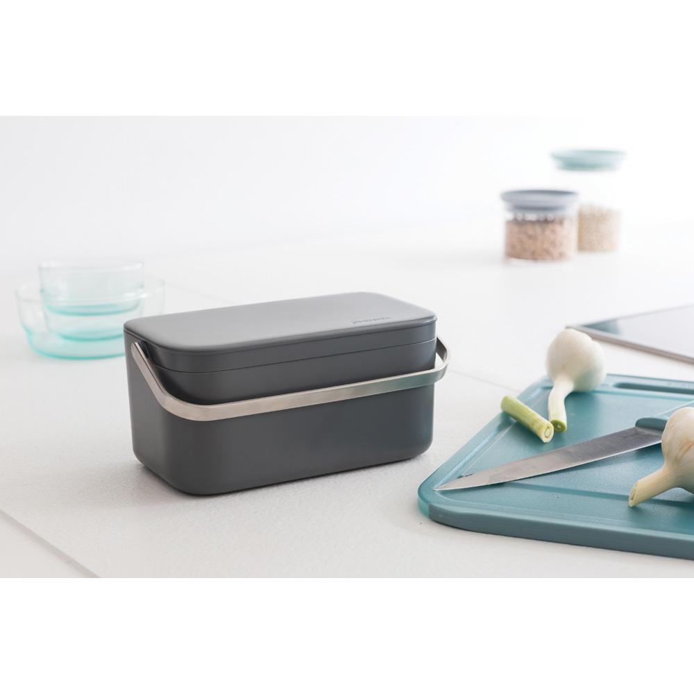 Кутия за хранителни отпадъци Brabantia Dark Grey(8)