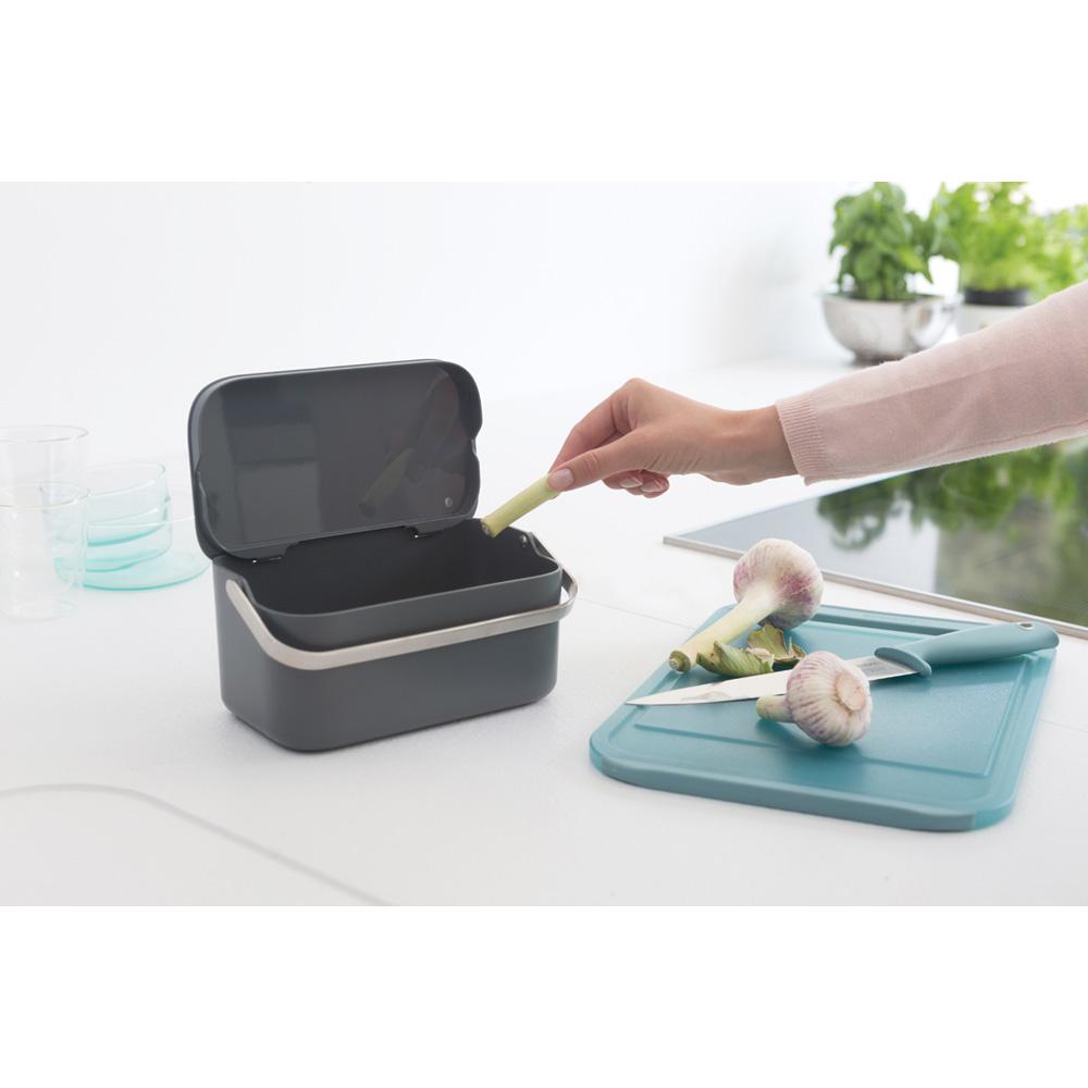 Кутия за хранителни отпадъци Brabantia Dark Grey(9)