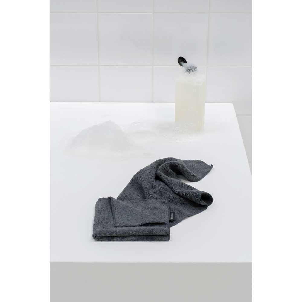Микрофибърни кърпи Brabantia Dark Grey, 2 броя(5)