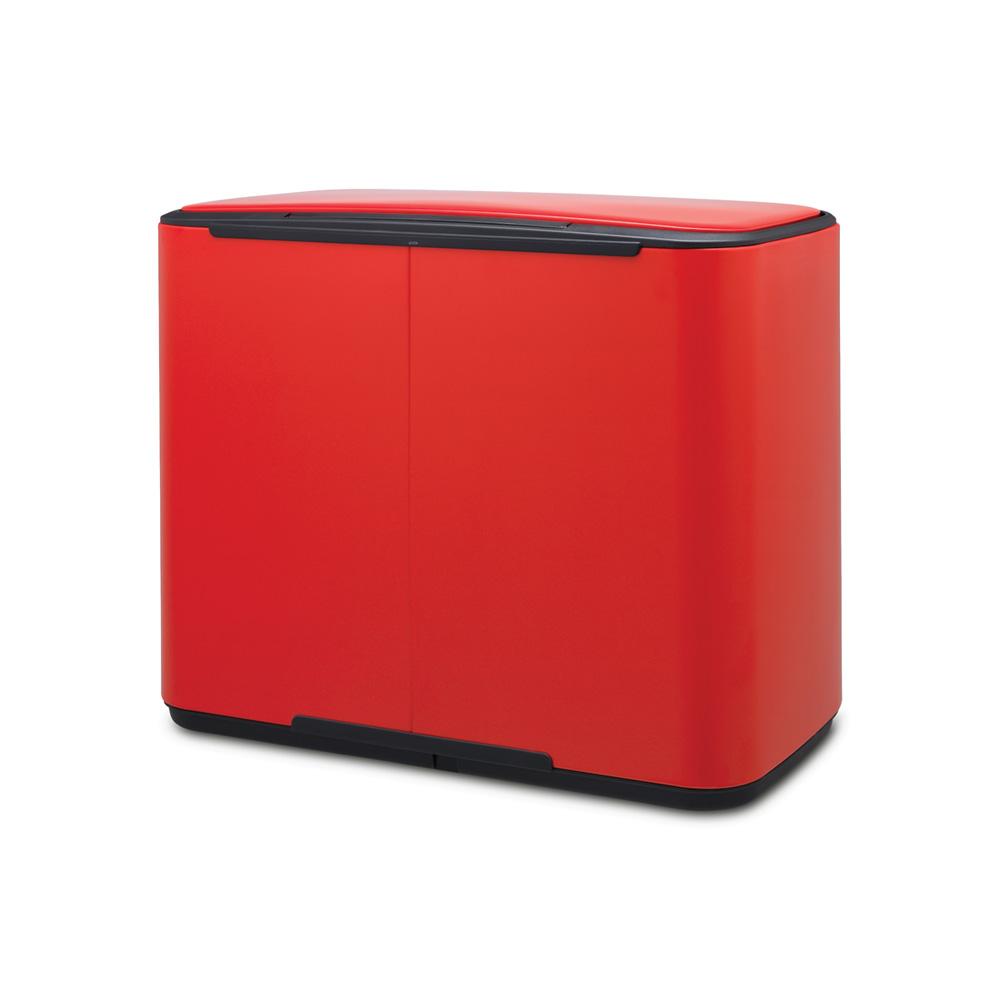 Кош за смет Brabantia Bo Pedal 3x11L, Passion Red(2)