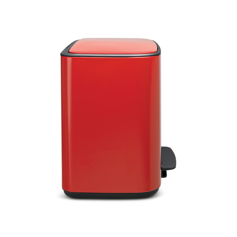 Кош за смет Brabantia Bo Pedal 3x11L, Passion Red(3)