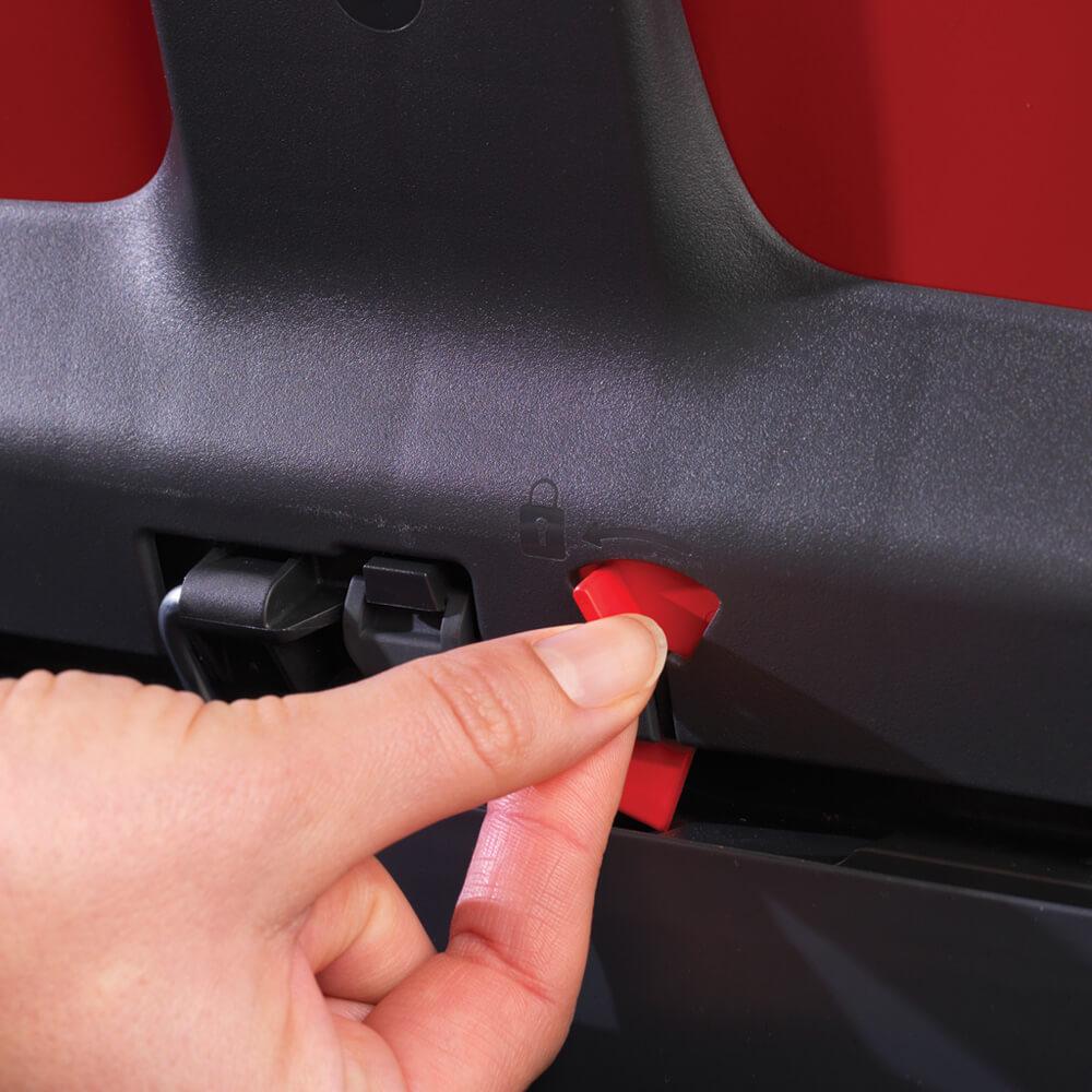 Кош за смет Brabantia Bo Pedal 11+23L, Passion Red(9)