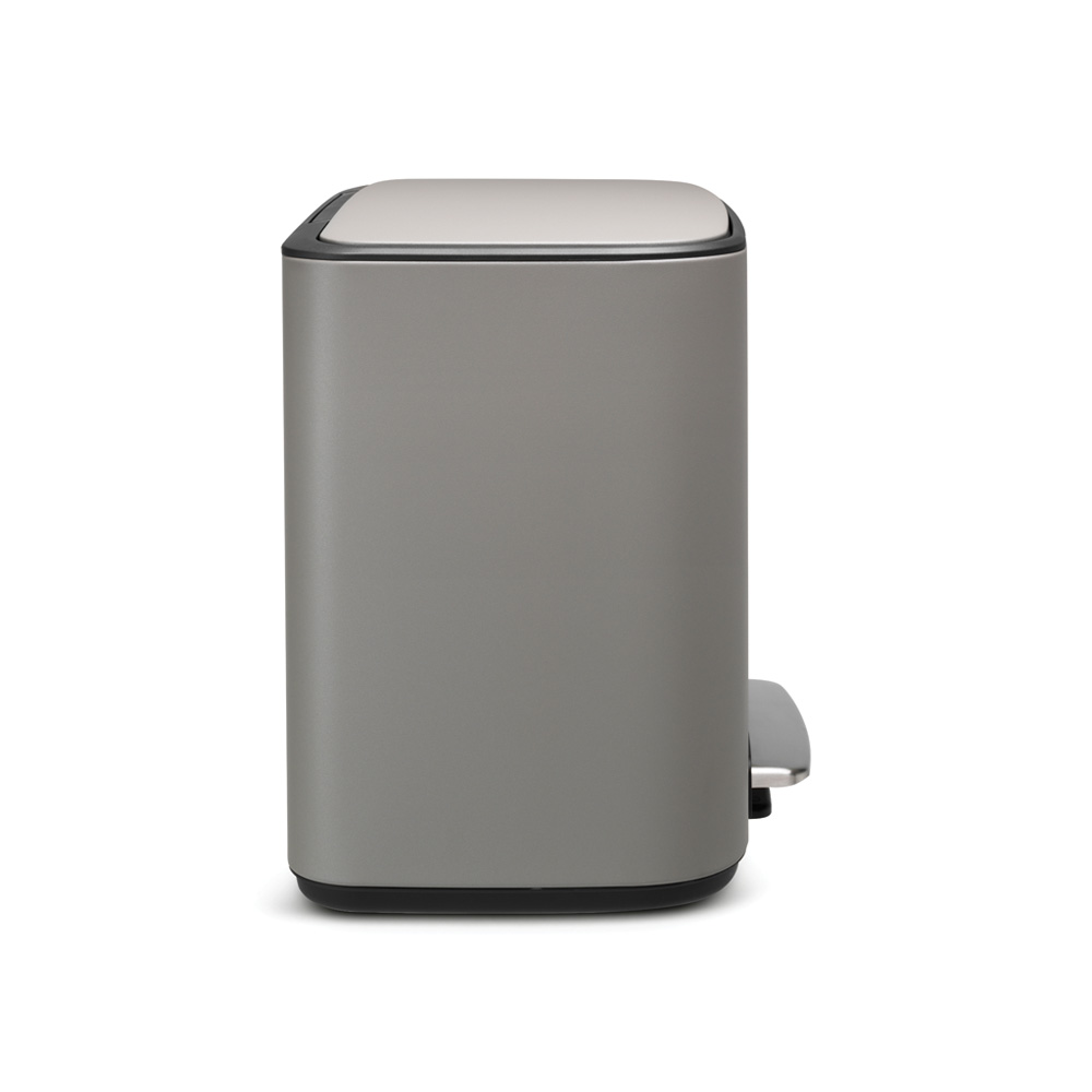 Кош за смет Brabantia Bo Pedal 36L, Mineral Concrete Grey(3)