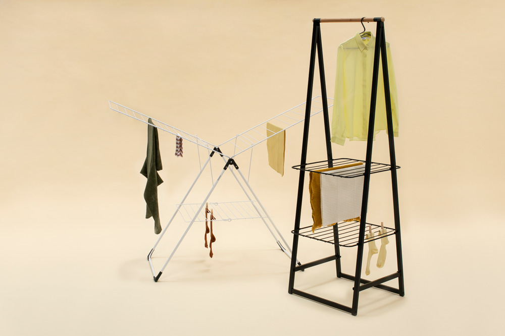 Многофункционална мебел Brabantia Linn Black, компактна(10)