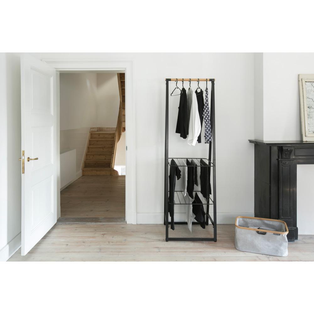 Многофункционална мебел Brabantia Linn Black, компактна(11)