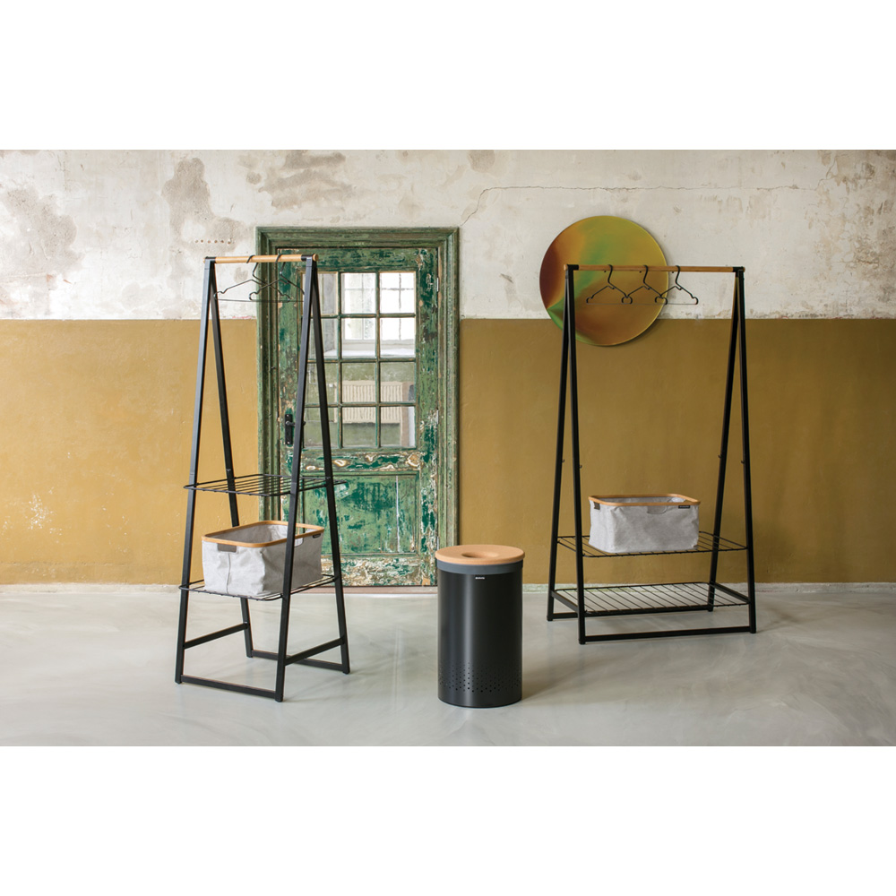 Многофункционална мебел Brabantia Linn Black, компактна(12)