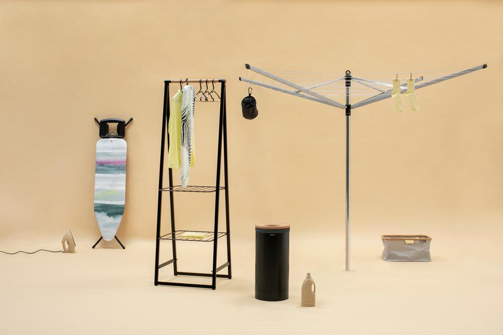 Многофункционална мебел Brabantia Linn Black, компактна(9)