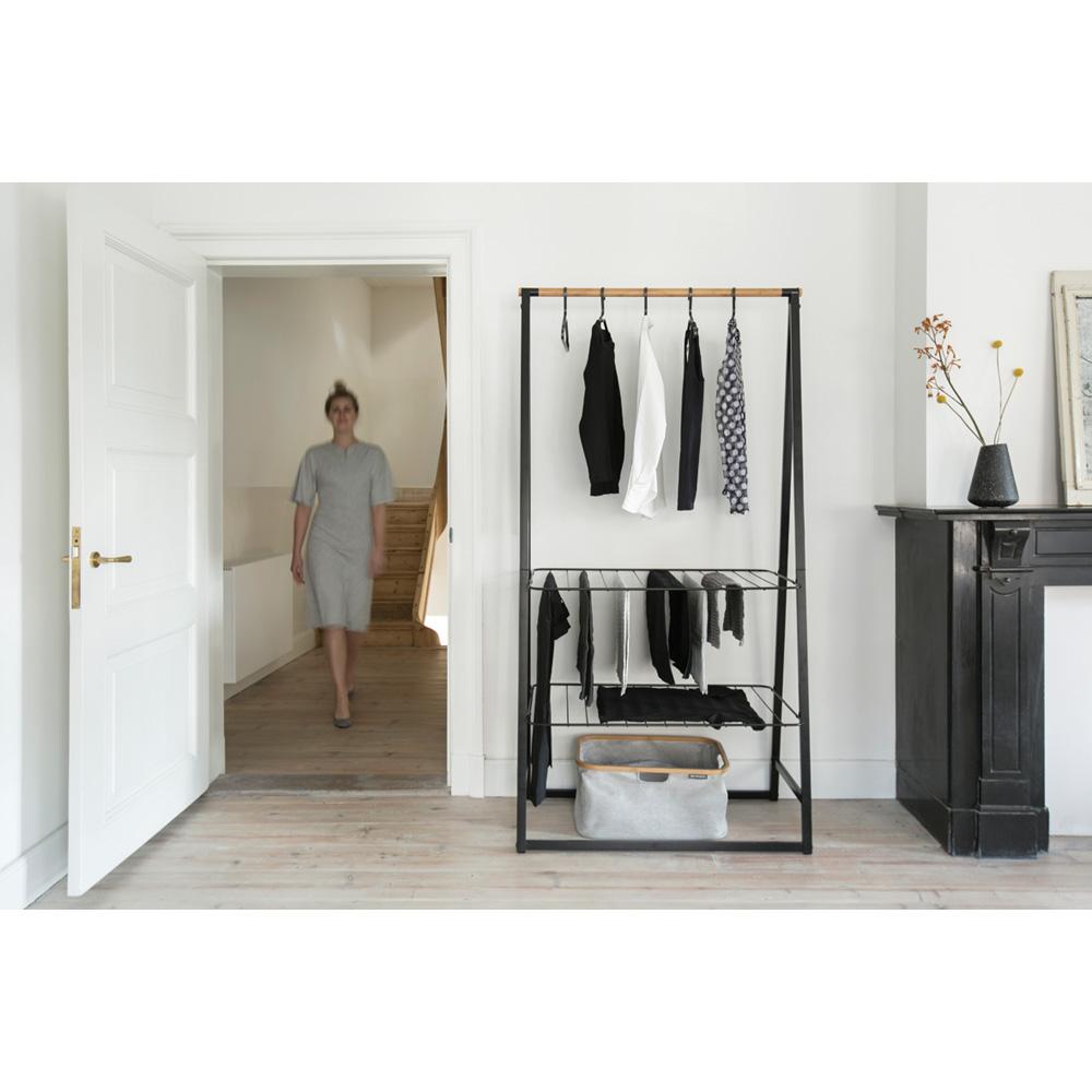 Многофункционална мебел Brabantia Linn Black, голяма(11)