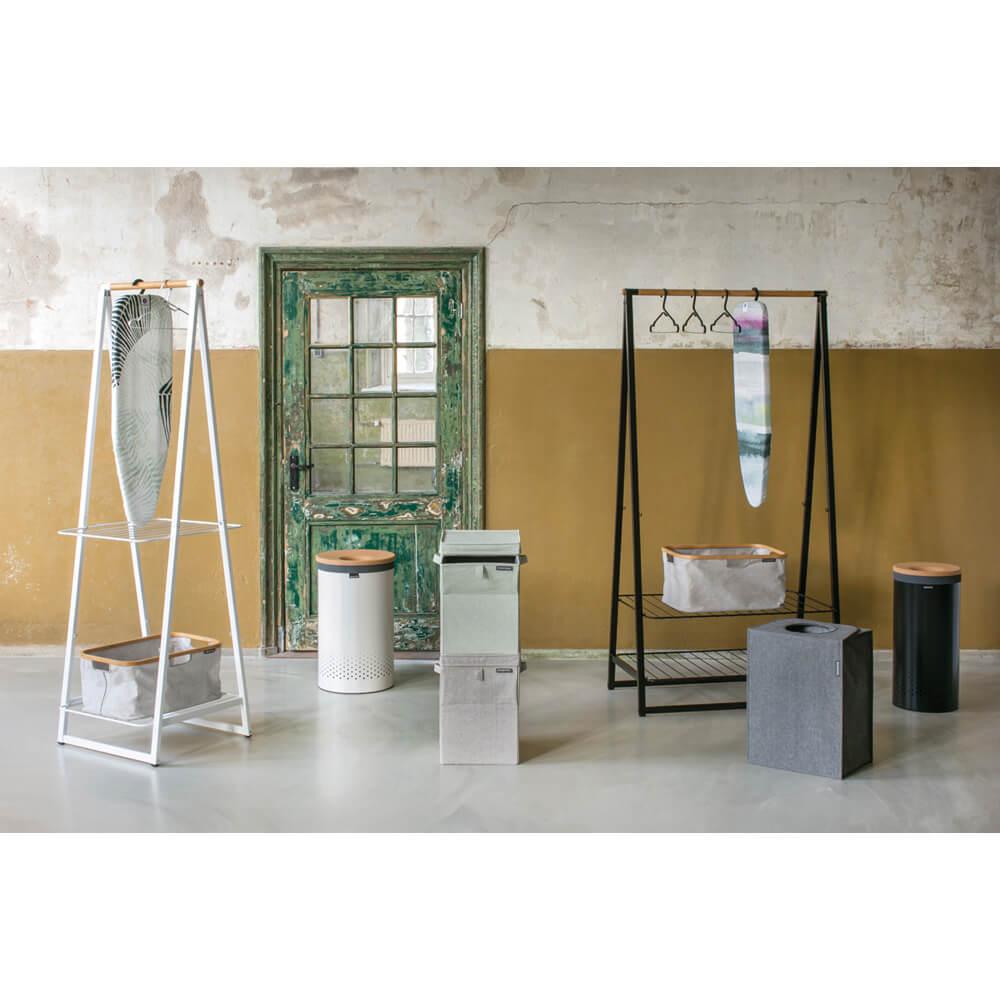 Многофункционална мебел Brabantia Linn Black, голяма(12)