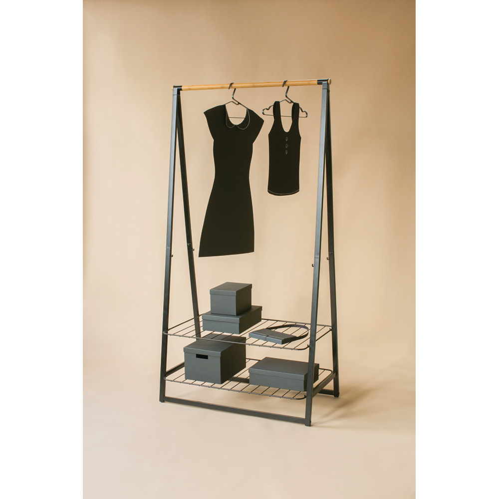 Многофункционална мебел Brabantia Linn Black, голяма(5)