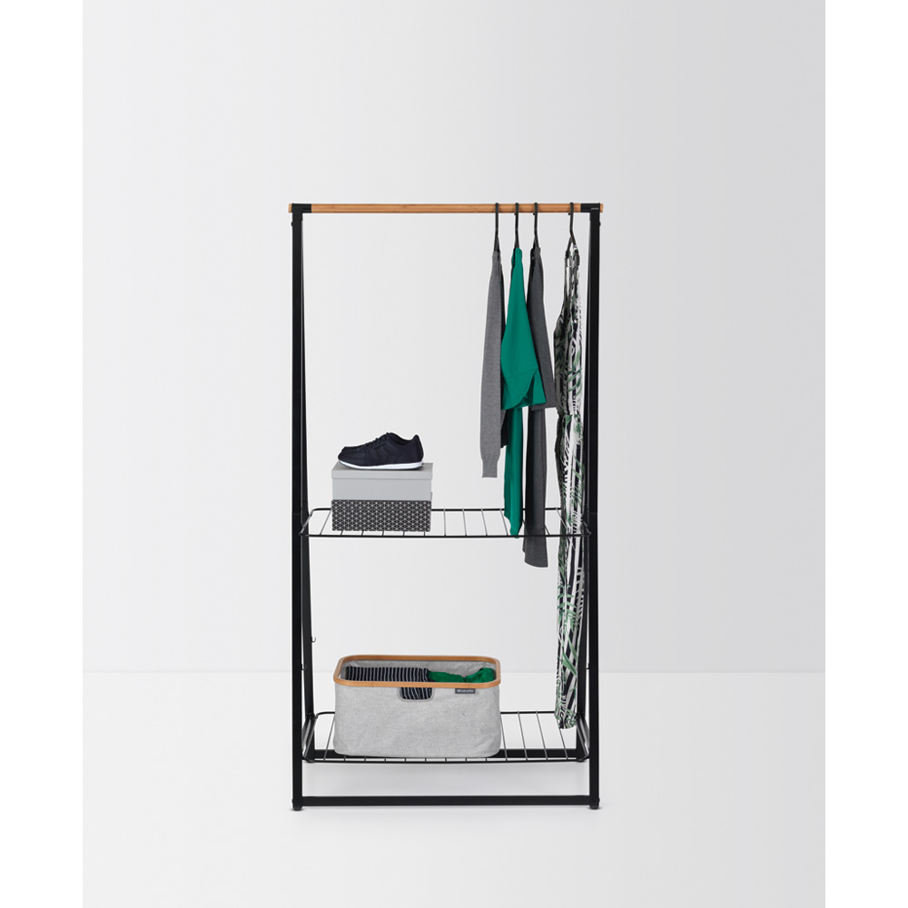 Многофункционална мебел Brabantia Linn Black, голяма(7)