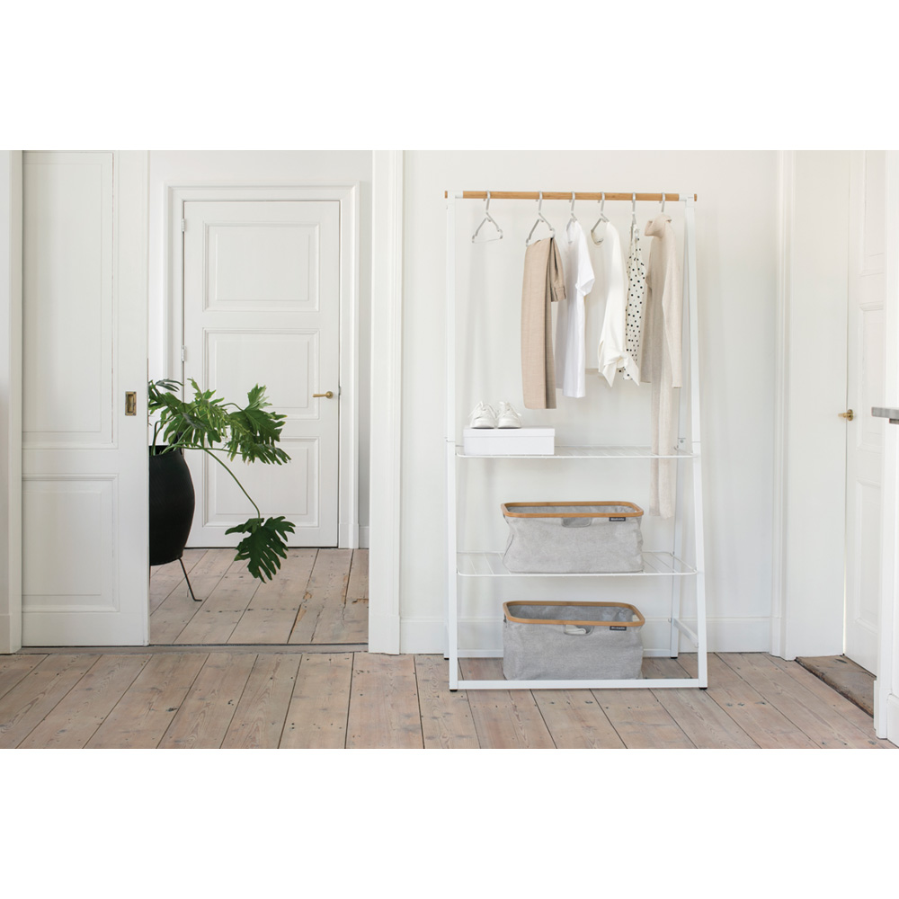 Многофункционална мебел Brabantia Linn White, голяма(10)