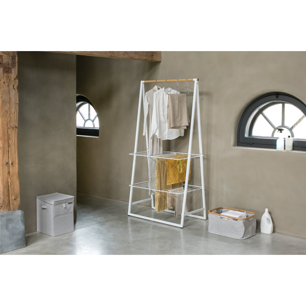 Многофункционална мебел Brabantia Linn White, голяма(11)