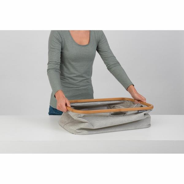 Сгъваем панер за пране Brabantia 40L, Grey(4)