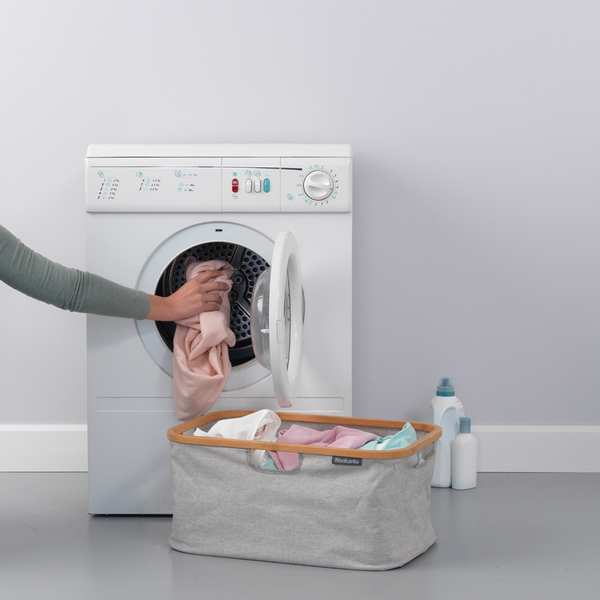 Сгъваем панер за пране Brabantia 40L, Grey(5)