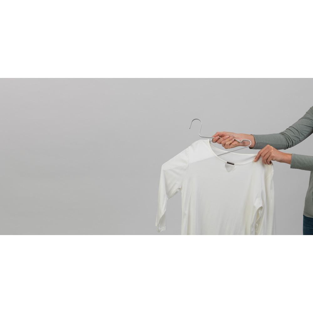Закачалки за дрехи Brabantia Linn Silver, алуминий, сиви, 4 броя(10)