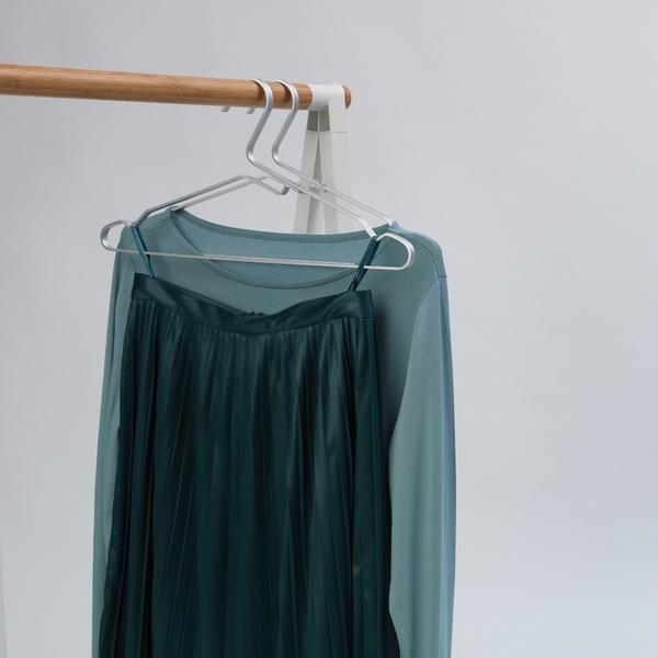 Закачалки за дрехи Brabantia Linn Silver, алуминий, сиви, 4 броя(2)