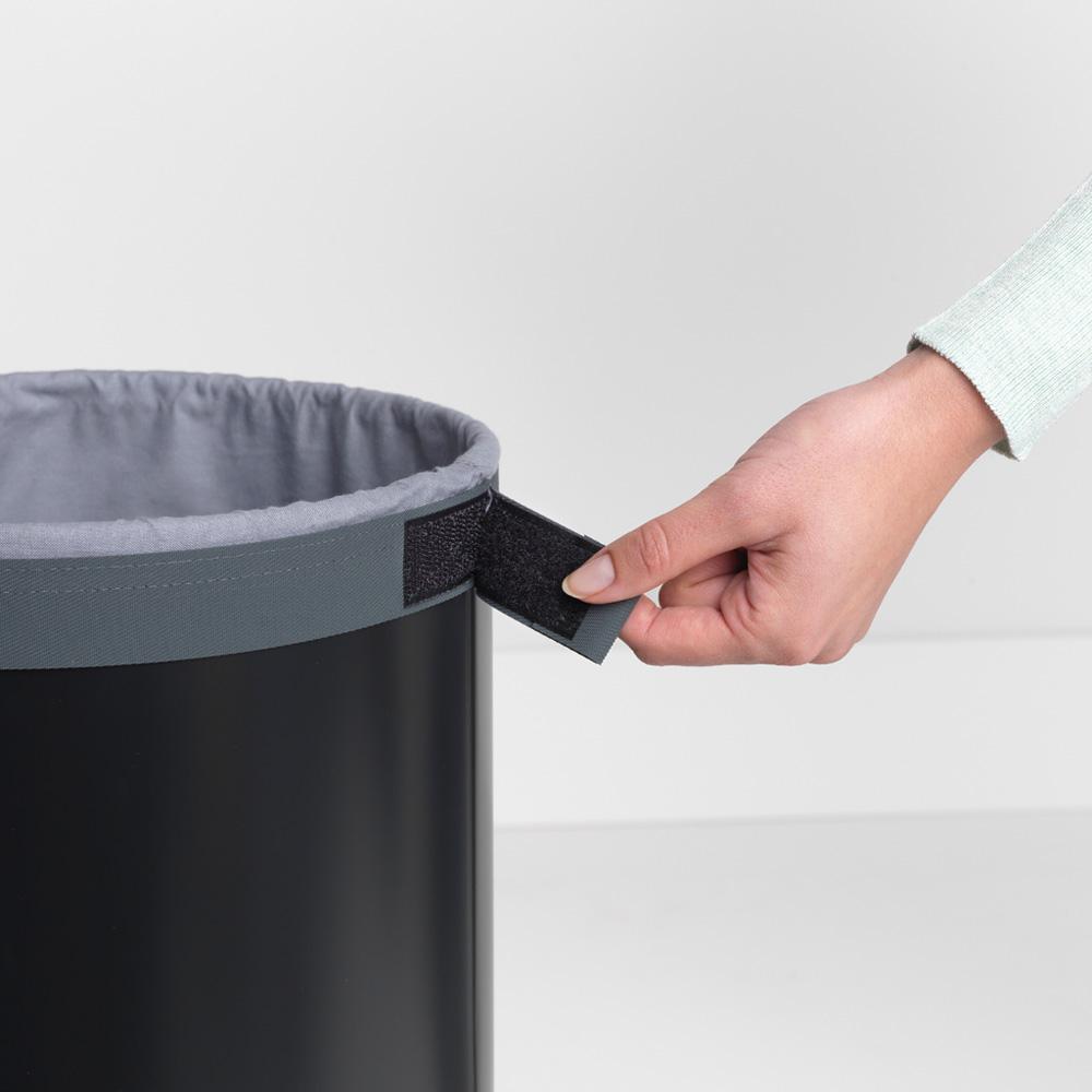 Кош за пране Brabantia 35L, Black, корков капак(10)