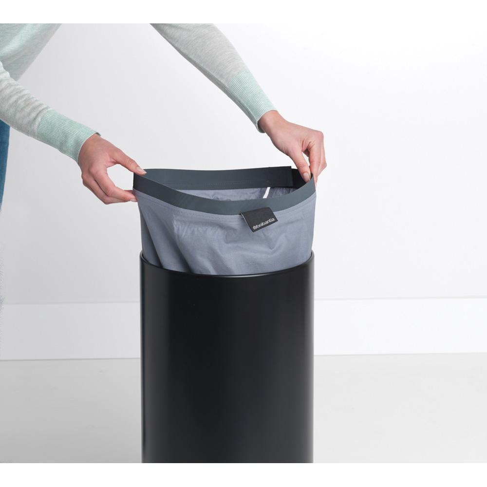 Кош за пране Brabantia 35L, Black, корков капак(11)