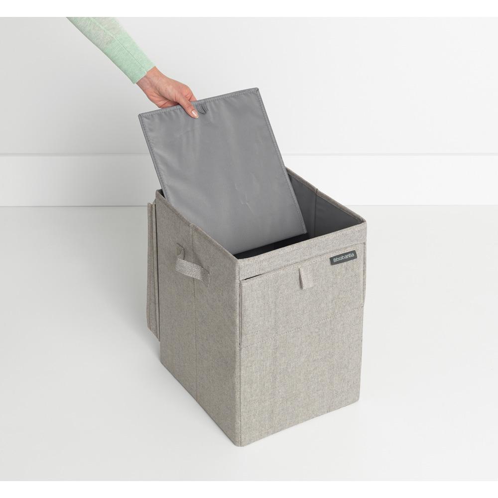 Кутия за пране Brabantia Stackable 35L, Grey(11)